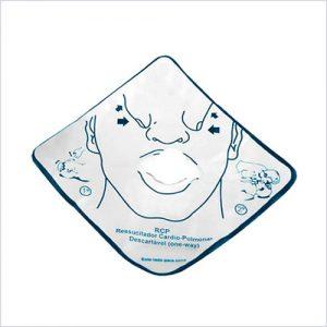 Máscara RCP descartável